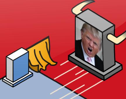 Baiting Trump