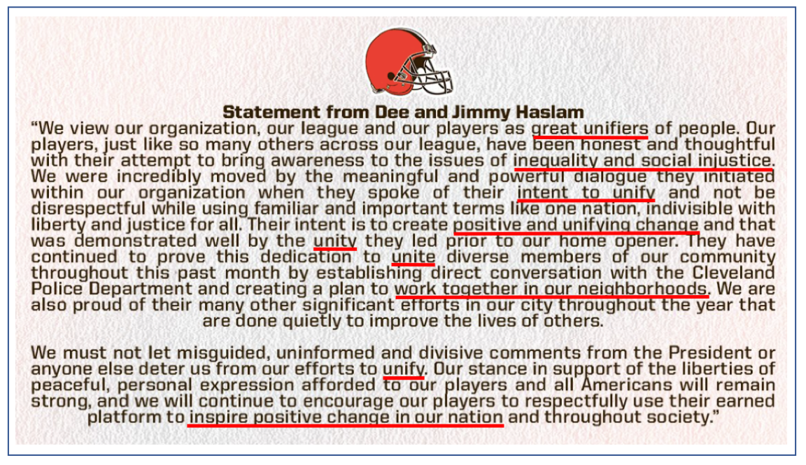Cleveland Statement